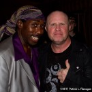 Deon Estus with Mike Score of A Flock Of Seagulls