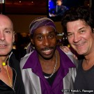 Deon Estus with Clive Farrington & Andrew Mann of When In Rome UK
